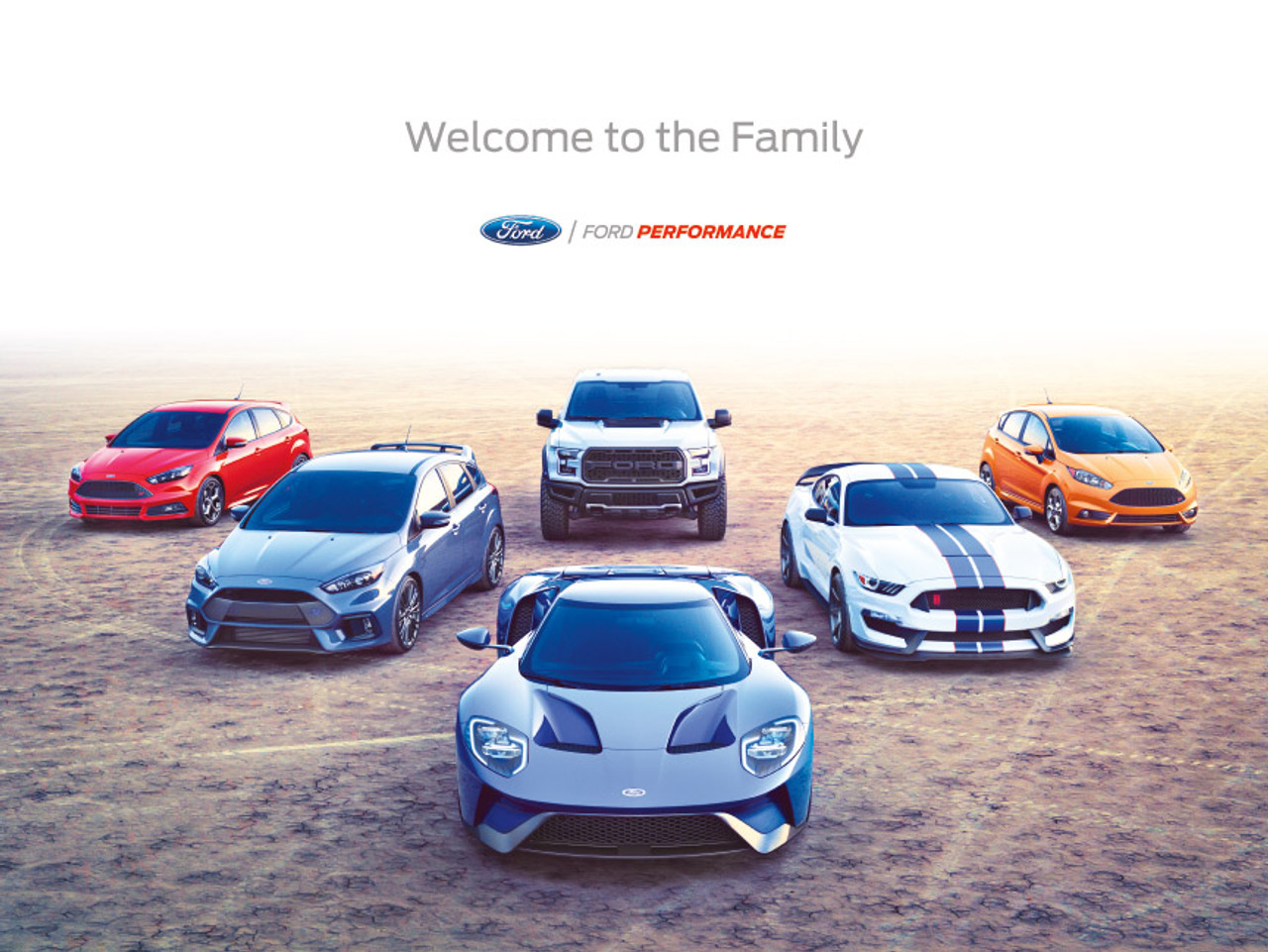 Ford Performance Family Poster - 2018