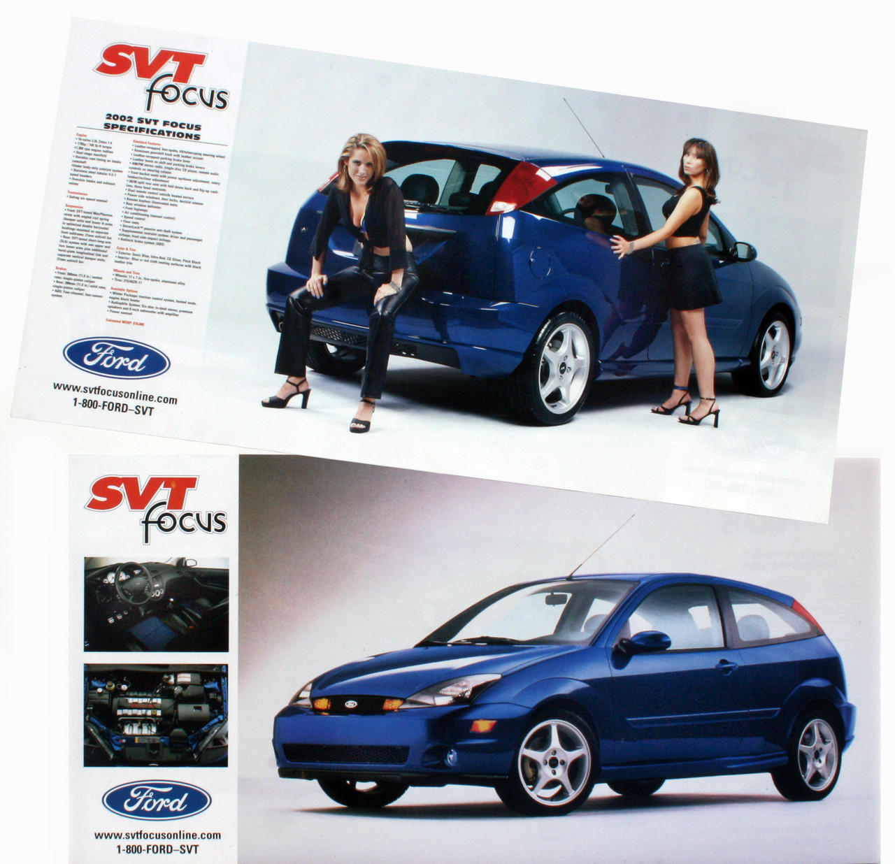 2002 SVT Focus Spec Poster - Double Sided