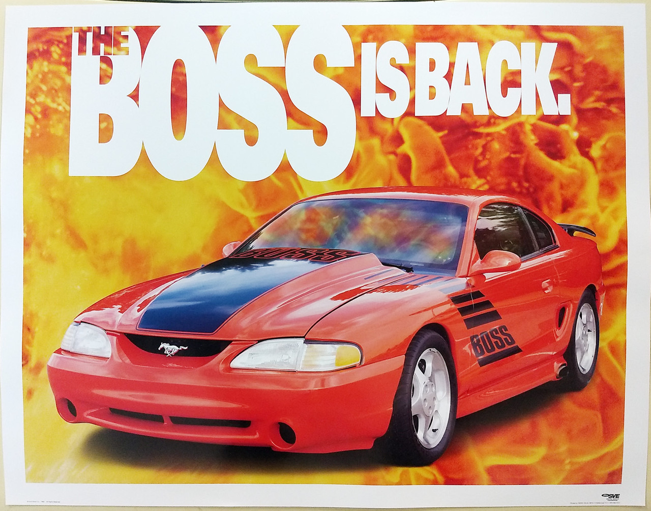 Mustang - The BOSS is Back Poster