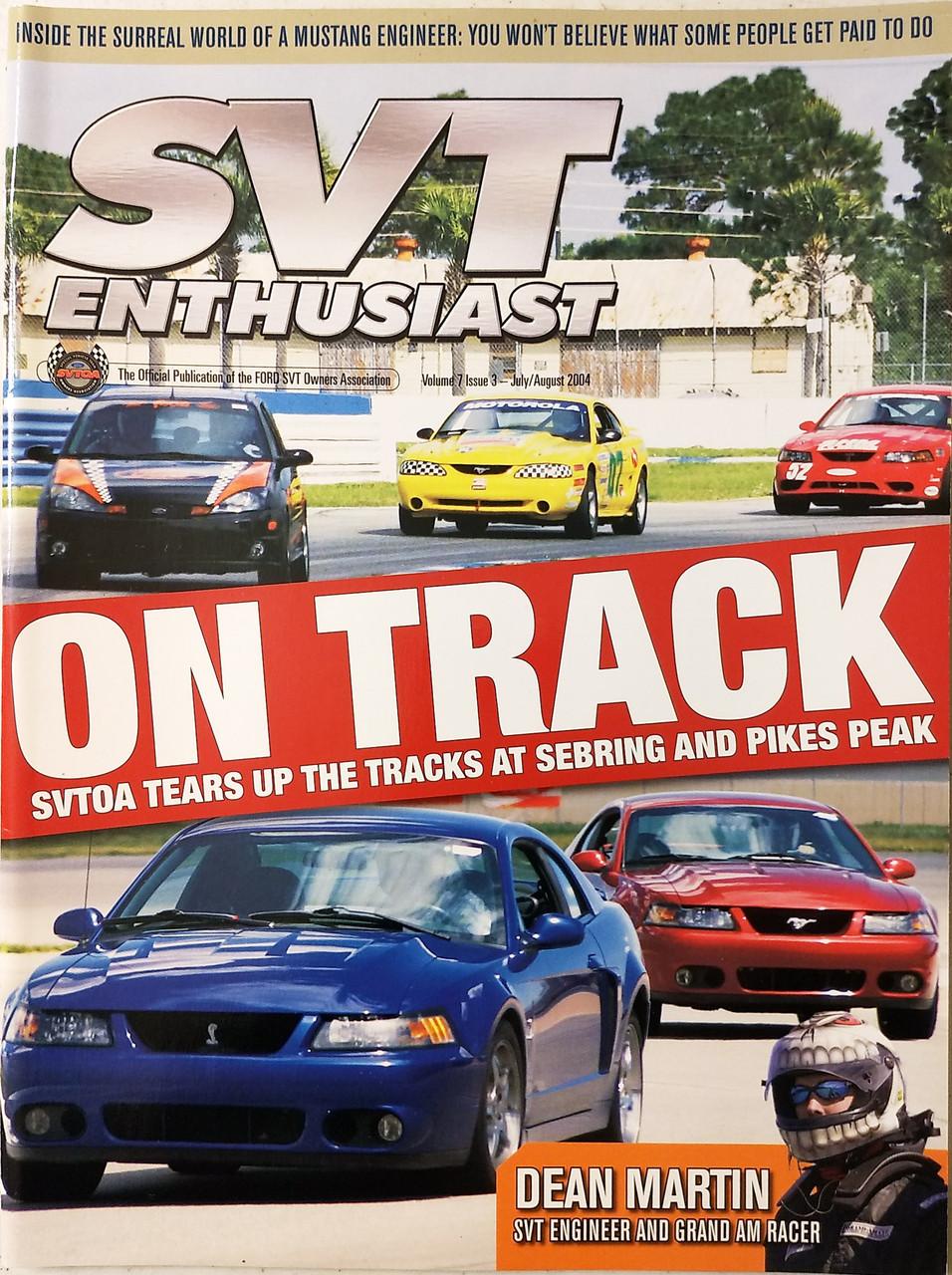 SVT Enthusiast Magazine - Vol7 Iss3 Jul/Aug 2004