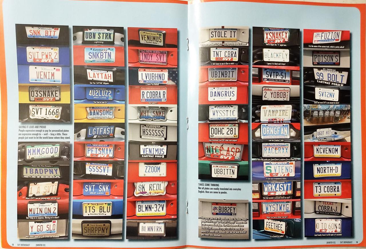 SVT Enthusiast Magazine - Vol6 Iss6 Winter 2003