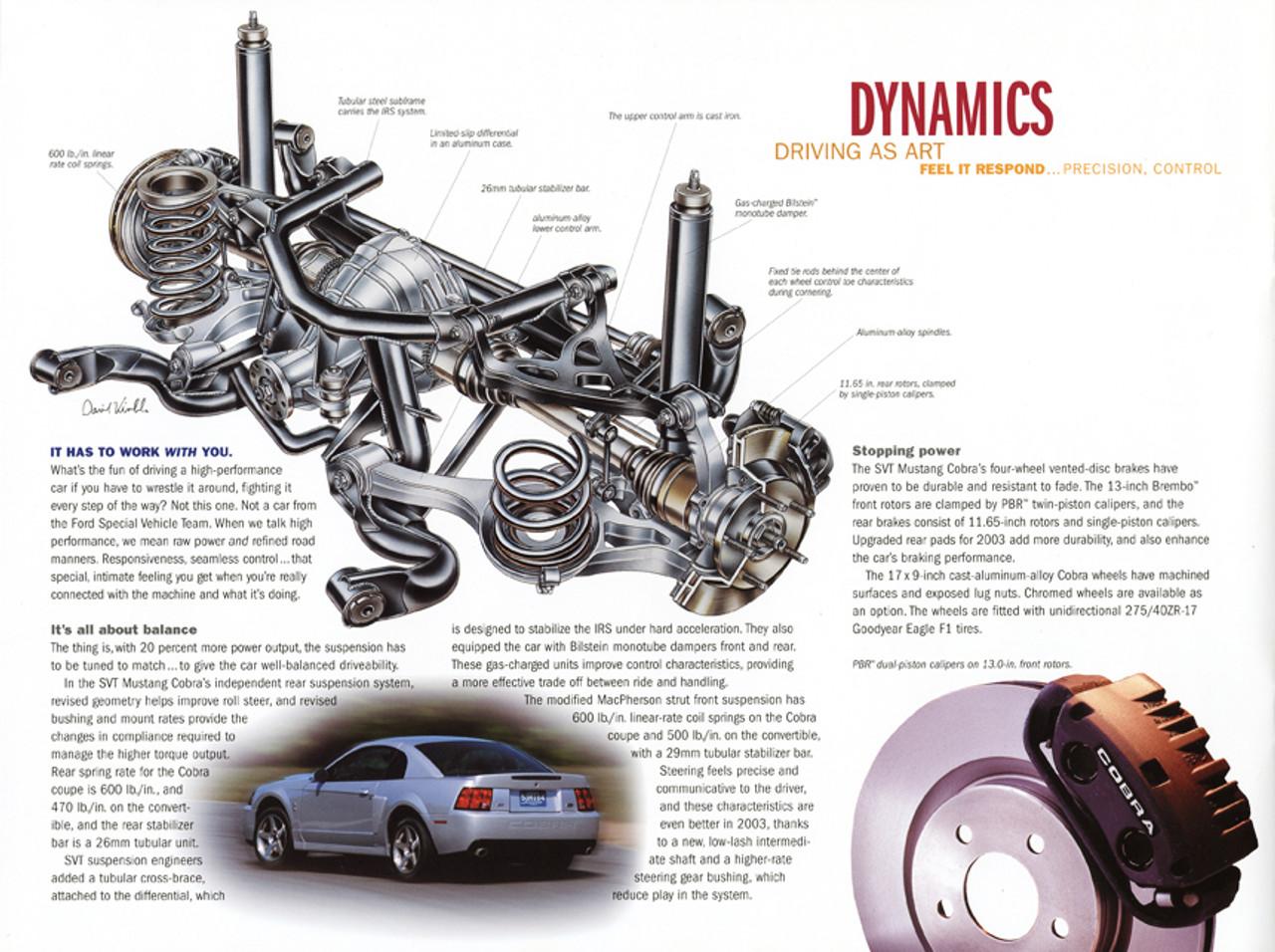 2003 Cobra Brochure