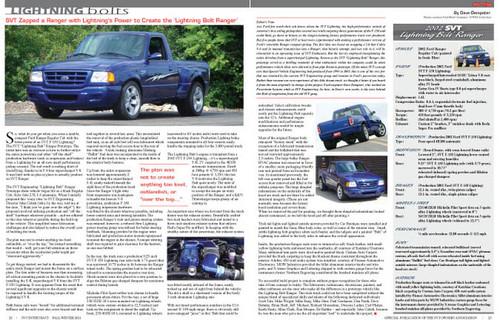 SVT Enthusiast Magazine Vol 5 Issue 1 - 2011