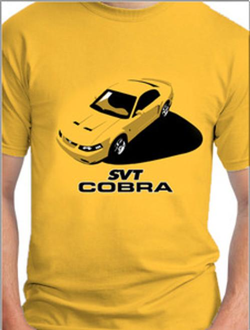 SVT Cobra Terminator Graphic T-shirt - YELLOW