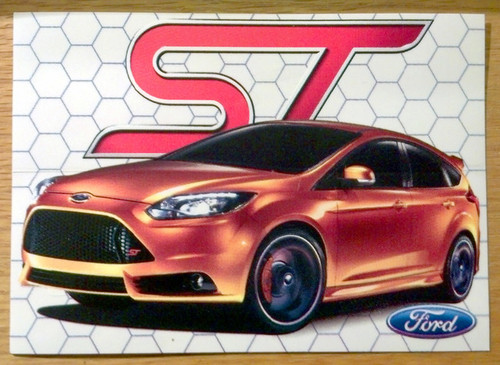 Focus ST Sticker