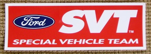 Ford SVT Logo Sticker - 13 inch