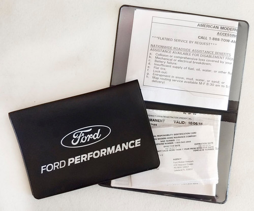Ford Performance Document Holder
