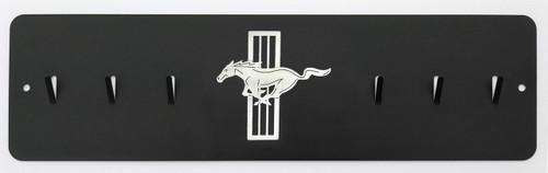 Mustang Tri-Bar Pony Key Rack