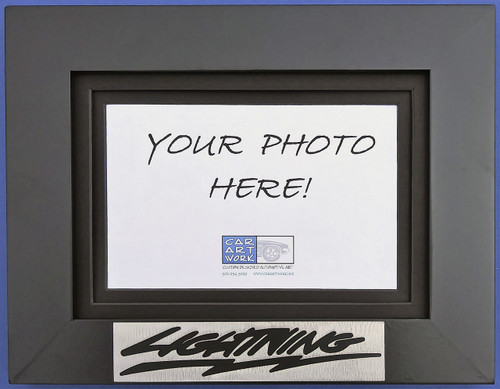 Custom Picture Frame - Lightning