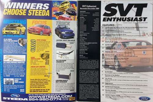 SVT Enthusiast Magazine - Vol7 Iss5 Nov/Dec 2004