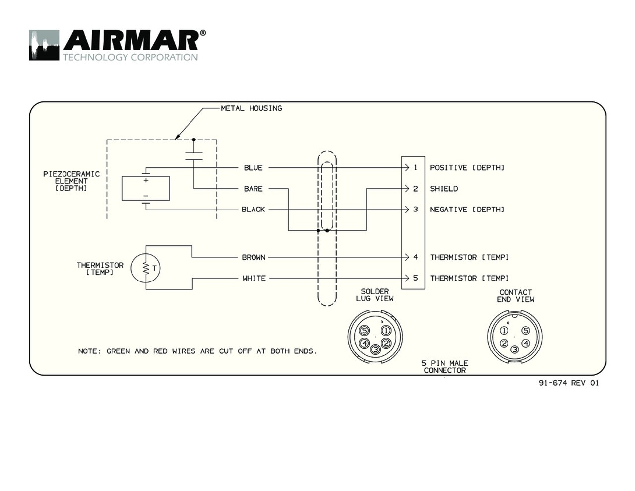 Airmar Wiring Diagram Mix and Match 600w | Blue Bottle Marine on