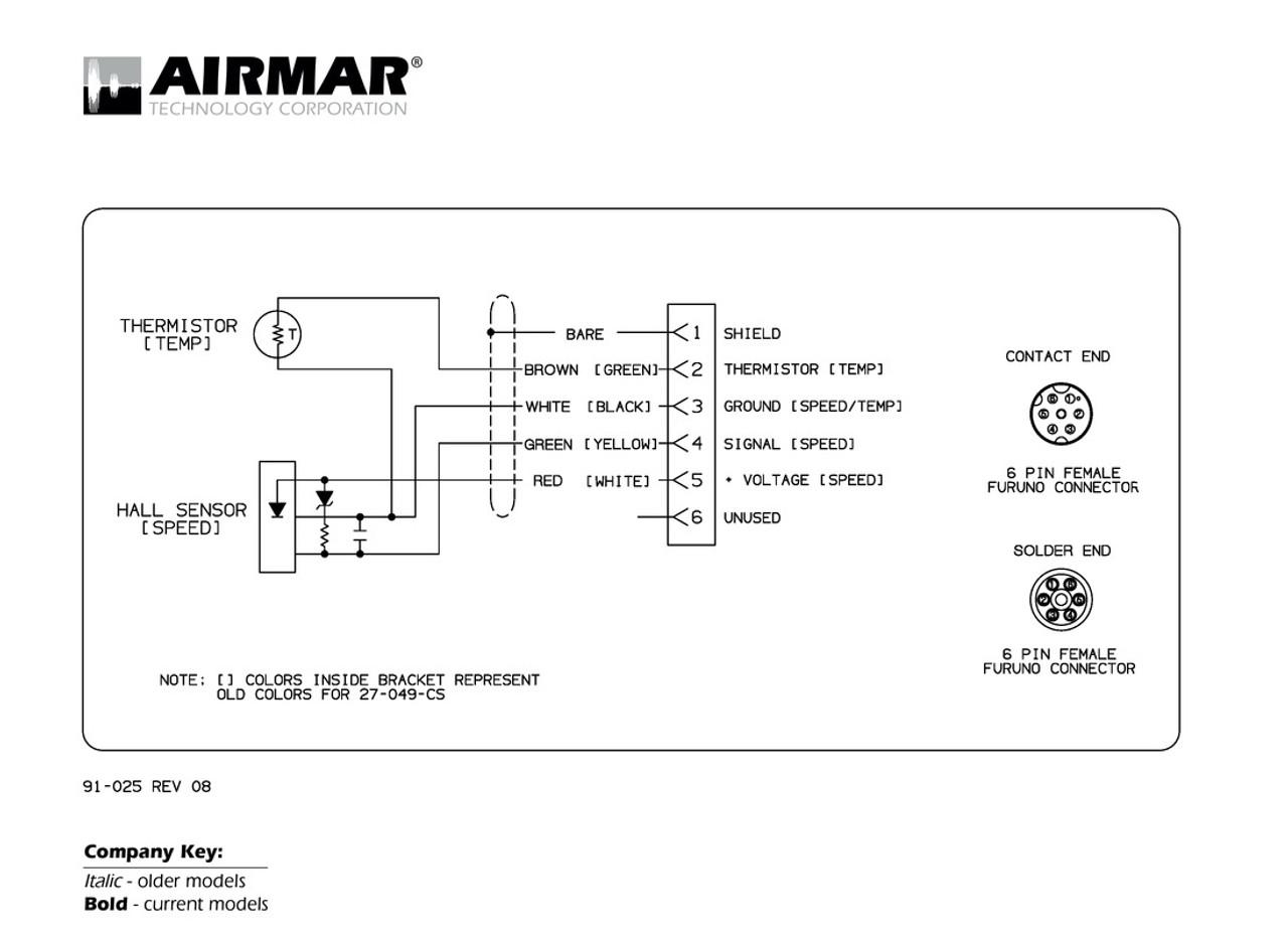 [SODI_2457]   Airmar Wiring Diagram Furuno 6 pin | Blue Bottle Marine | Furuno Wiring Diagram |  | Blue Bottle Marine