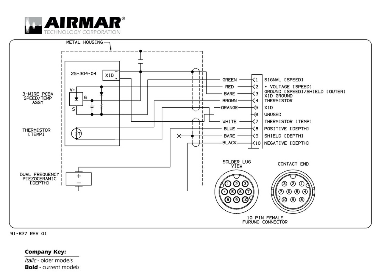 Airmar Wiring Diagram Furuno 10 Pin Best Deal Blue Bottle Marine