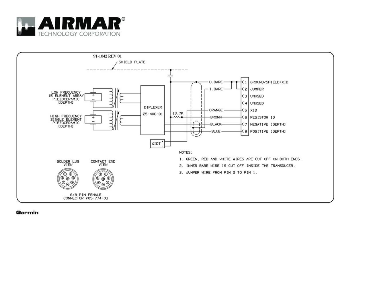 Swell Airmar Wiring Diagram Garmin R199 8 Pin D T Blue Bottle Marine Wiring Cloud Venetbieswglorg