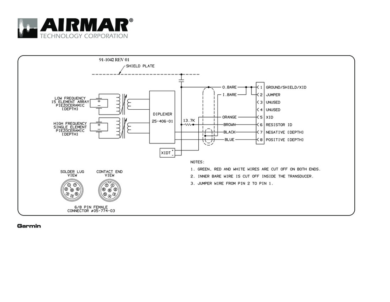 Transducer Wiring Diagram - Diagrams Catalogue on