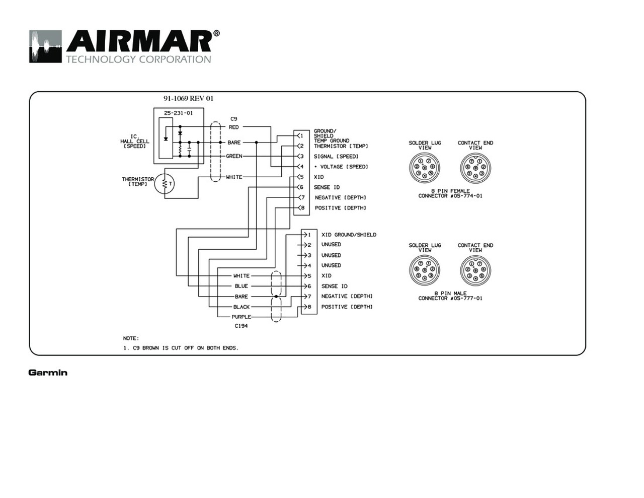 8 Pin Connector Wiring Diagram | Wiring Diagram