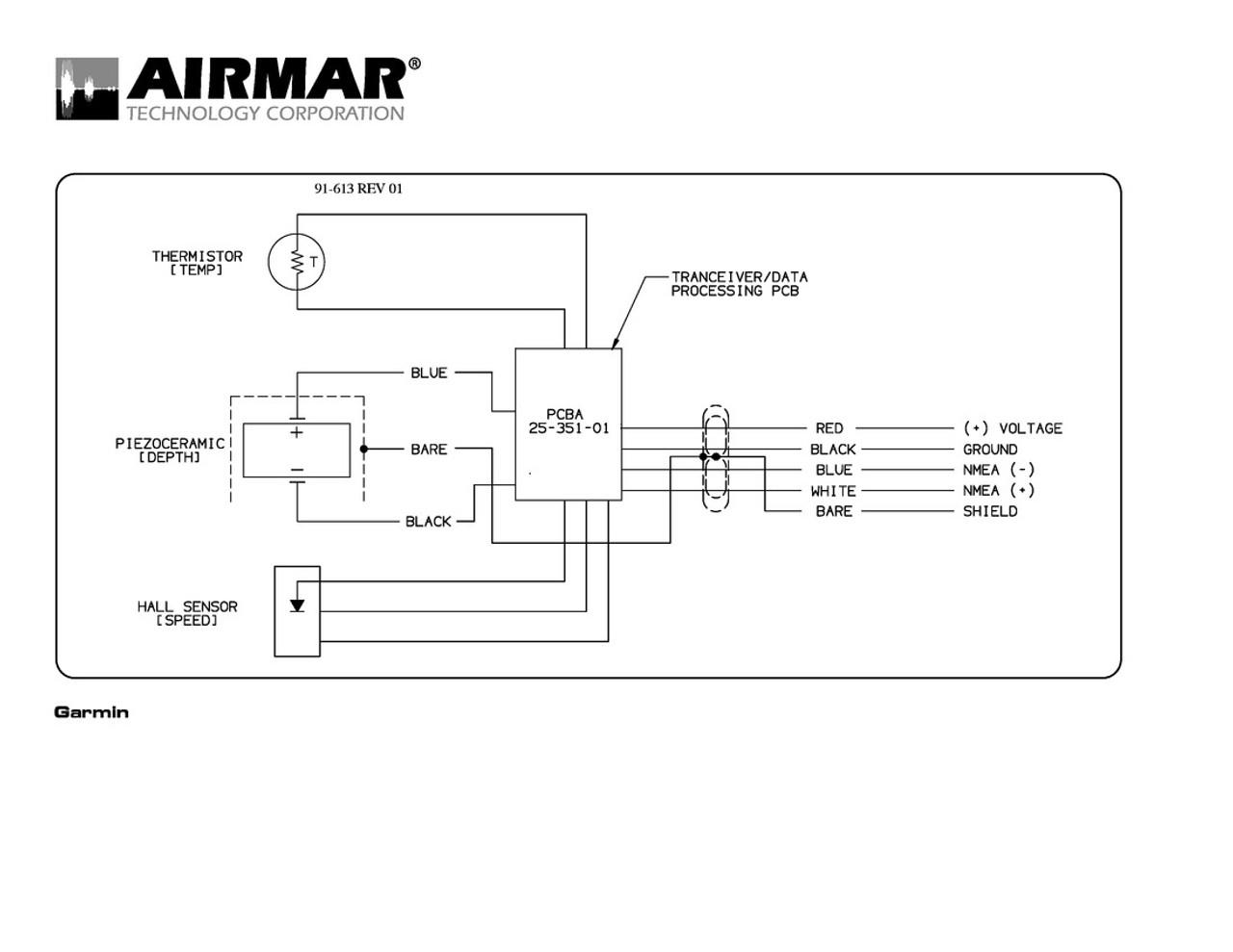 Airmar Wiring Diagram NMEA 0183 bare | Blue Bottle Marine on raymarine seatalk wiring, synchro wiring, transducer wiring, nasa wiring, abyc wiring, usb wiring, smartcraft wiring,