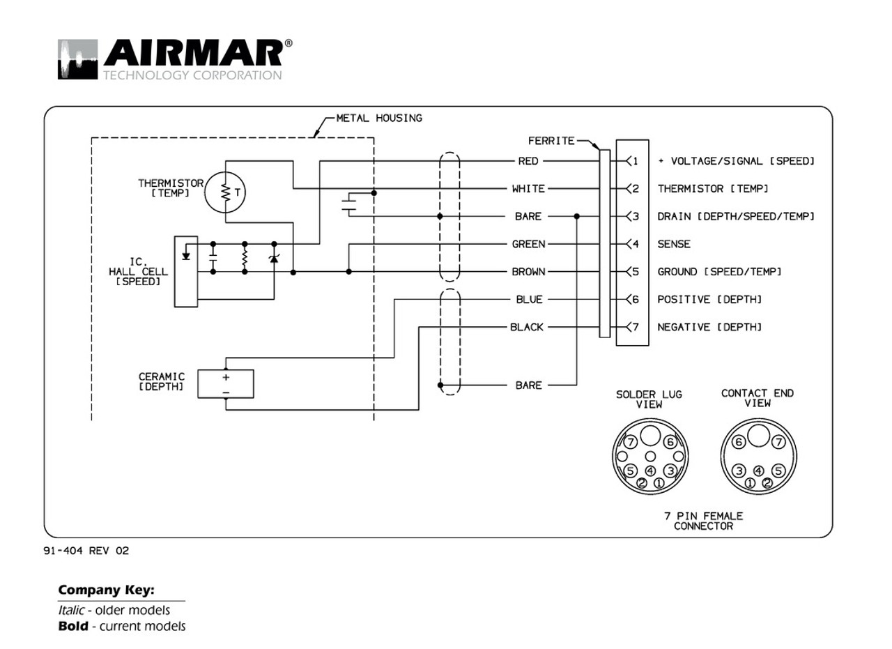 airmar wiring diagram raymarine dsm300 7 pin blue bottle marine Wiring Diagram for Lowrance Structure Scan depth, speed \u0026 temperature transducers for raymarine dsm300 with raymarine 7 pin connector (