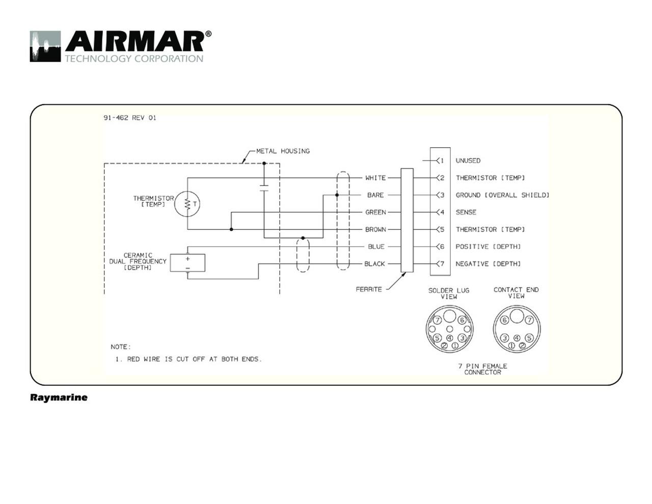 Airmar Wiring Diagram Raymarine 7 pin (D,T) | Blue Bottle Marine on 7 pin electrical, sae j1850 pin diagram, 7 pin connector diagram, 7 pin power supply, 7 pin battery, 7 pin controller diagram, 7 pin cable, 7 pronge trailer connector diagram, 7 pin relay diagram, 7 pin coil, 7 pin trailer diagram, 7 pin regulator, 7 pin cover, 7 pin ford, 7 pin plug diagram, 7 prong trailer plug diagram,