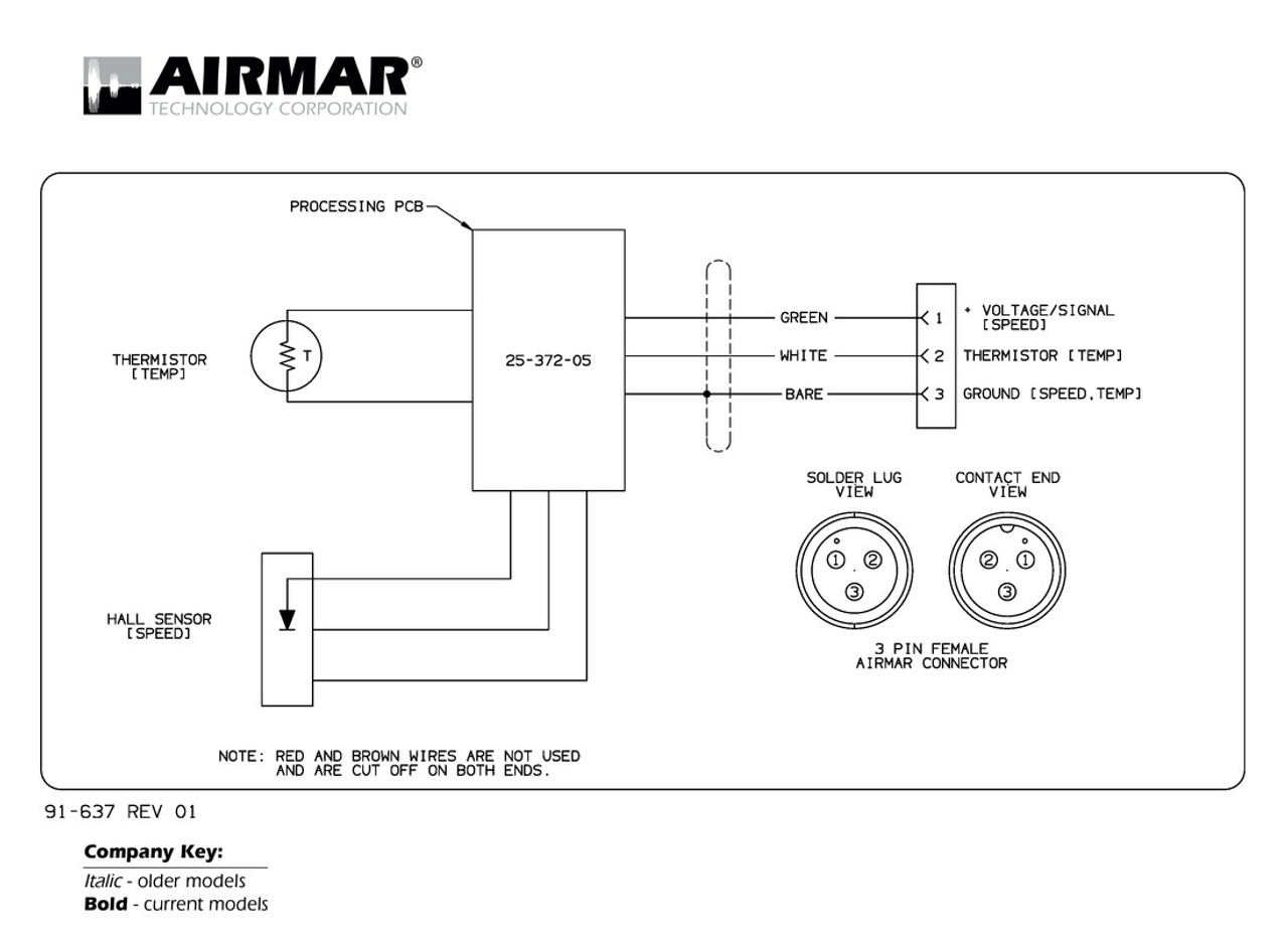 airmar wiring diagram raymarine dsm300 3 pin blue bottle marine Mercury Wiring Diagrams