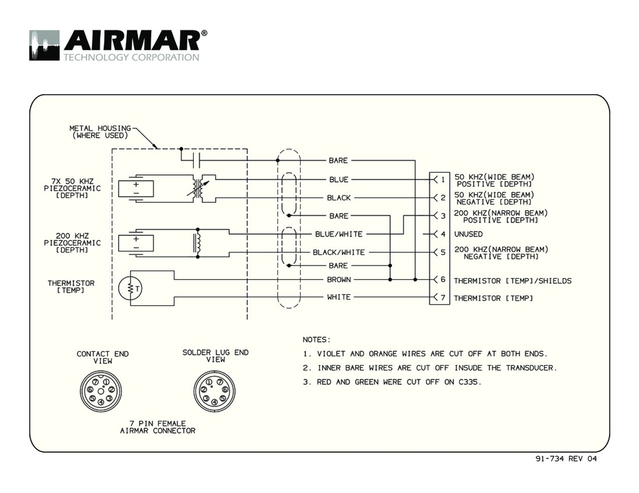airmar wiring diagram simrad 1kw 7 pin blue bottle marine. Black Bedroom Furniture Sets. Home Design Ideas