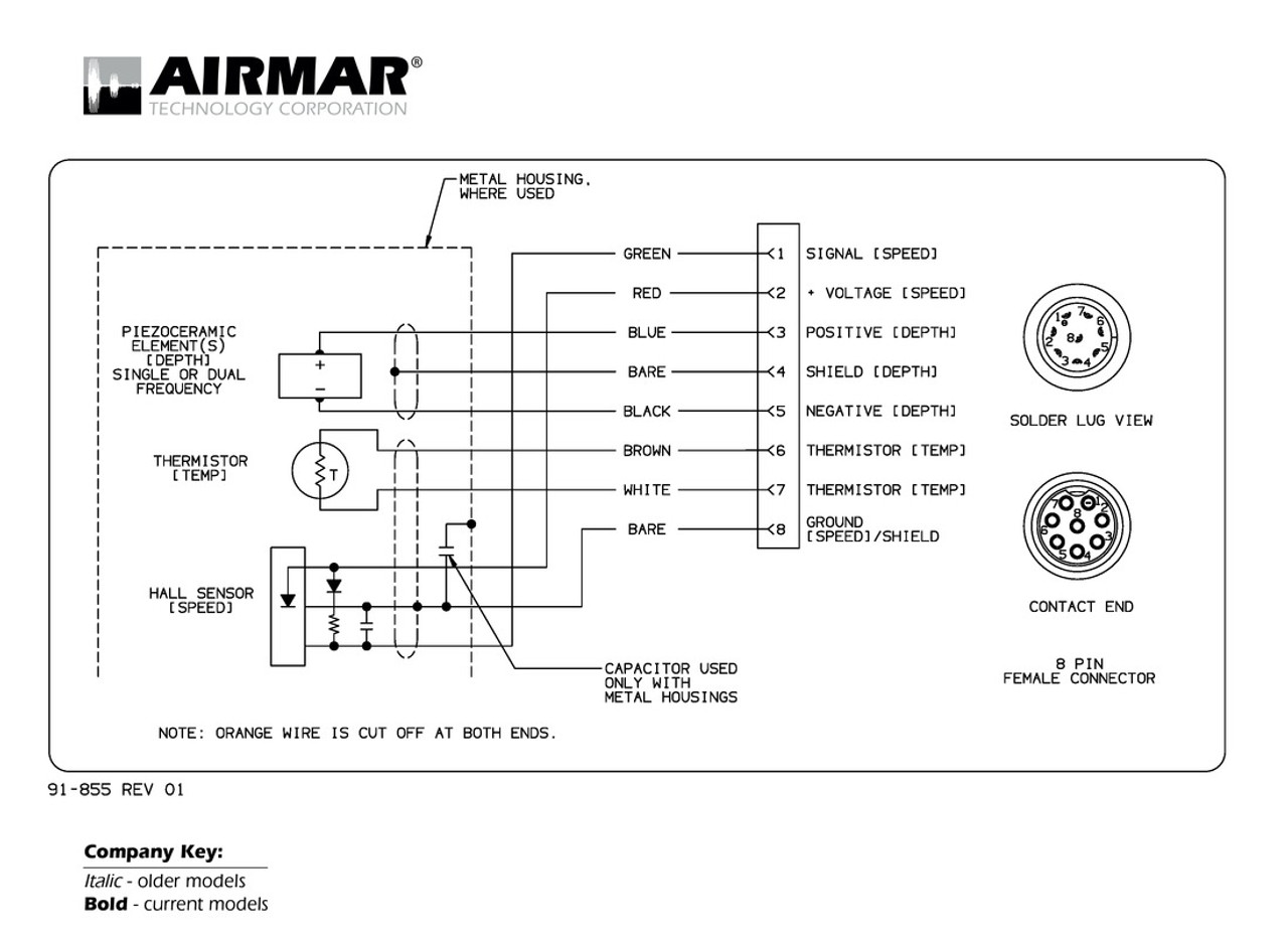 Airmar Wiring Diagram Sitex With Fuji 8 Pin
