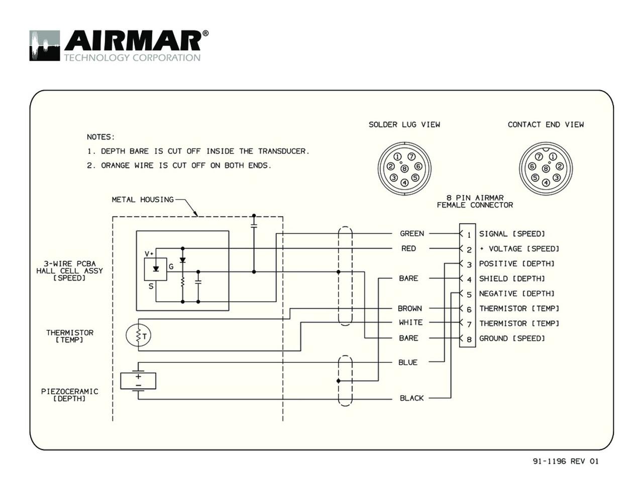 airmar wiring diagram sitex 8 pin blue bottle marine