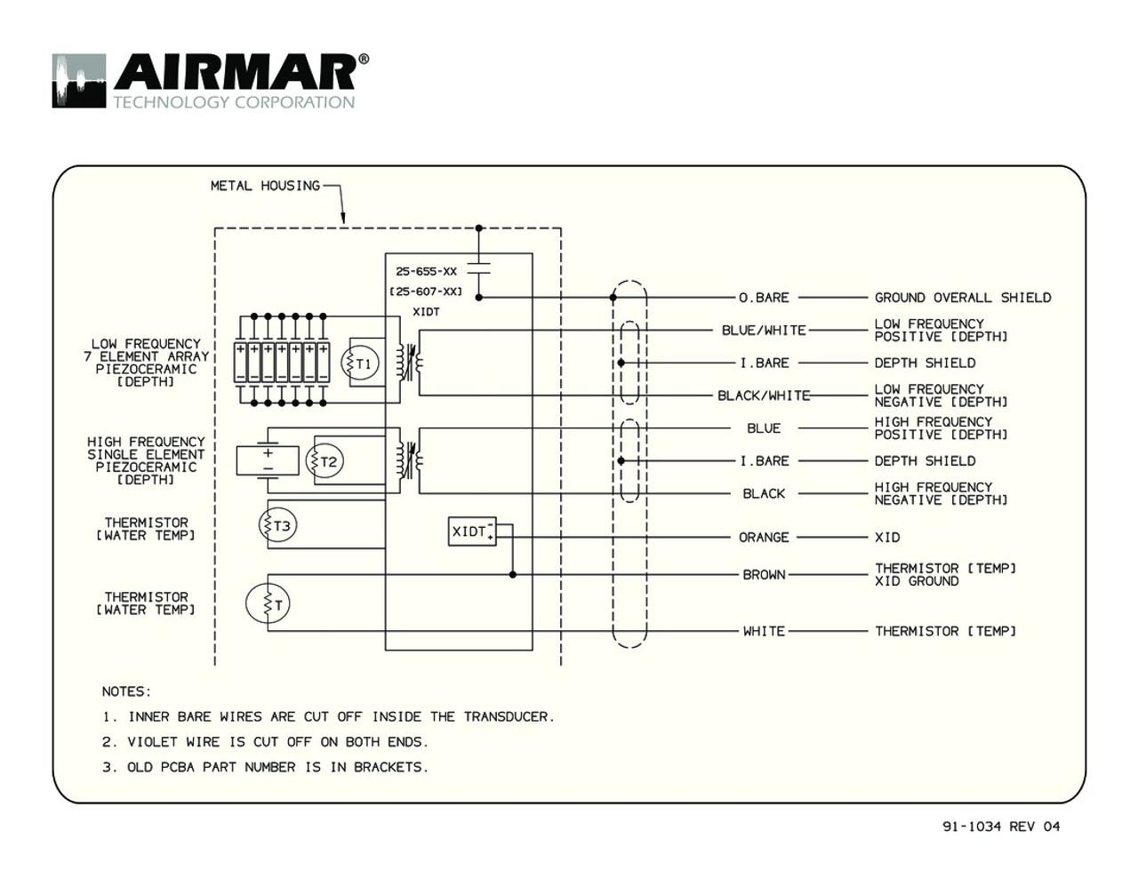 airmar wiring diagrams wiring diagram post Pressure Transducer Wiring