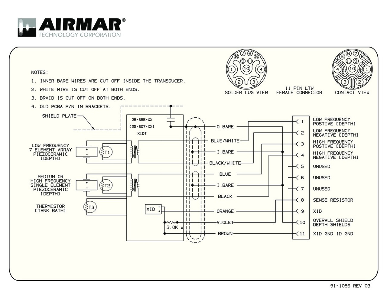 Airmar Wiring Diagram M265 | Blue Bottle Marine on marine gauges, marine wiring layout, speaker schematic, marine battery, marine fuses, marine wiring code, marine wiring guide, marine repair,
