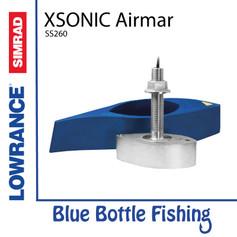 Xsonic Airmar SS260 Stainless Steel 1 kW Thru Hull (9 pin black)