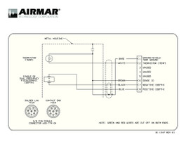 Airmar Wiring Diagram Garmin B744 8 Pin D S T Best Deal Blue Bottle Marine