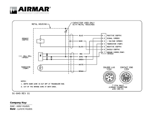 airmar wiring diagram lowrance/simrad 7 pin dst best