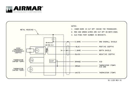 airmar wiring diagram b175h ss175h ss175hw b285 best deal