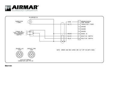 [DIAGRAM_38YU]  Airmar Wiring Diagram Garmin P319 8 pin (D,T) | Blue Bottle Marine | Airmar Wiring Diagrams |  | Blue Bottle Marine