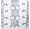 Black  Ameba Pattern Lightweight Soft Large Premium Scarf