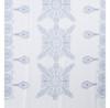 Blue Ameba Pattern Lightweight Soft Large Premium Scarf