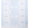 Navy Ameba Pattern Lightweight Soft Large Premium Scarf