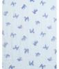 Teal Shiba Animal Pattern Premium Scarf