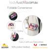 Premium Compact Wallet Stlye Foldable Shopping Bag BZD325-3
