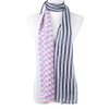 Stripes All Season Summer Large Scarf SC8528-1