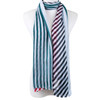 Stripes All Season Summer Large Scarf SC8528-3