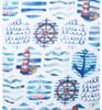 Ocean Sail All Season Summer Large Scarf SC8598
