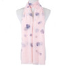 Pink Scallop Shell Pattern Large Summer Scarf SC8625