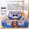 Brown Washable Pet Snuggle Beds