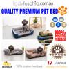 Blue Washable Pet Snuggle Beds