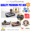 Grey Washable Pet Snuggle Beds