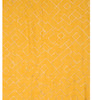 Yellow Premium Silver Geometric Scarf SC8736