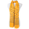 Yellow Classy Natural Paisley Scarf SC8758