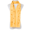 Yellow Natural Sea Star Fish Scarf SC8766