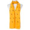Yellow Cute Giraffe Print Scarf SC8772